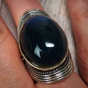 Vintage Gothic Medieval Ring Size 7.5